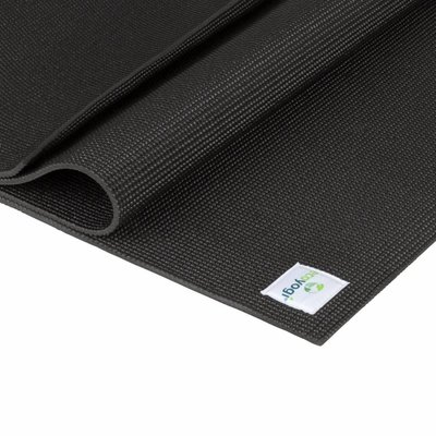 Ecoyogi Classic yoga mat 200 cm - Zwart