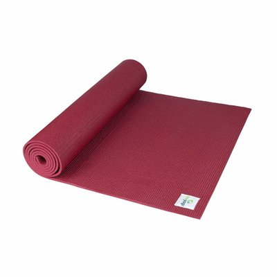 Ecoyogi Classic yoga mat 183 cm - Ruby Red