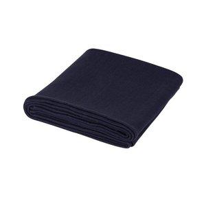 Yoga deken - donker blauw