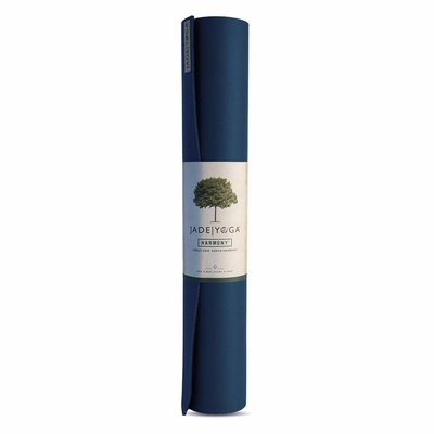 Jade Yoga Harmony yoga mat 173 cm - Midnight (5 mm)