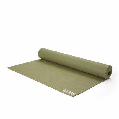 Jade Yoga Harmony yoga mat 173 cm - Olijf groen (5 mm)