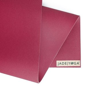 Jade Yoga Harmony yoga mat 173 cm - Raspbarry (5 mm)