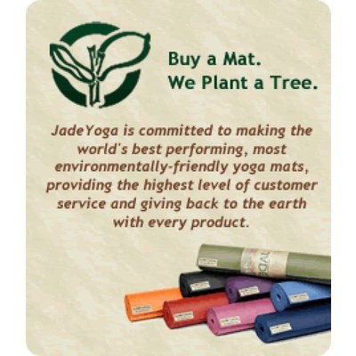 Jade Yoga Harmony yoga mat 173 cm - Zwart (5 mm)