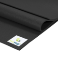 Ecoyogi Studio Yoga Mat - 200 x 80 cm - zwart
