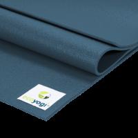 Ecoyogi Studio Yoga Mat - 200 x 80 cm - blauw