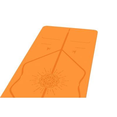 Liforme Happiness Mat - Orange (incl. tas)