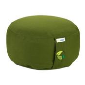 Ecoyogi meditatiekussen Olijf groen medium (eco) - 13 -15 cm