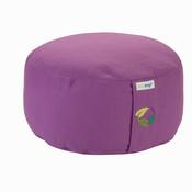 Ecoyogi meditatiekussen Lavendel medium (eco) - 13 -15 cm