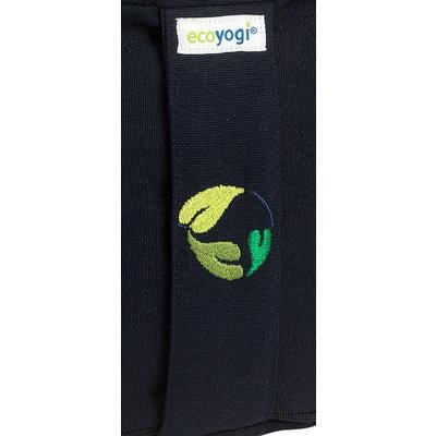 Ecoyogi meditatiekussen hoog Donker blauw