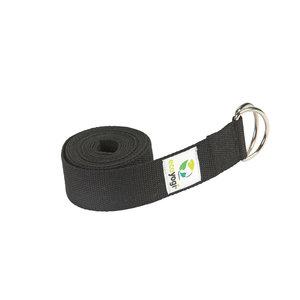 Ecoyogi Yoga riem zwart