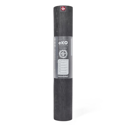 Manduka eKO mat Charcoal  180 cm - 6 mm