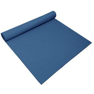 Balans yoga mat topper – Donker blauw - 185 x 66 x 0,4 cm