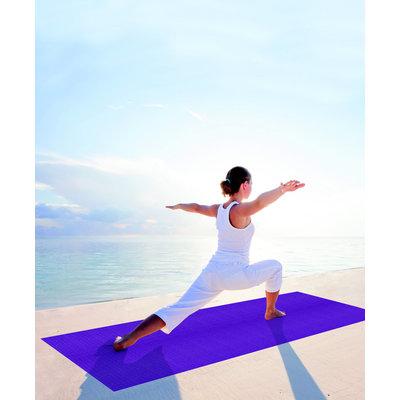 Balans yoga mat  – Paars - 185 x 66 x 0,4 cm