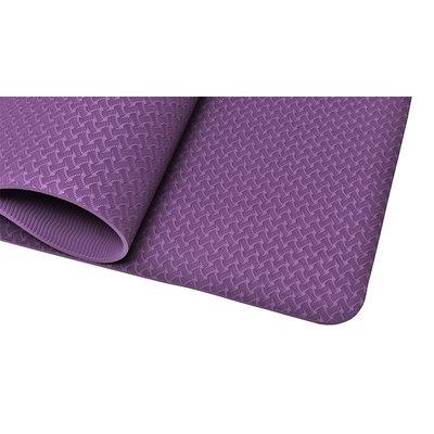 Ecoyogi TPE Yoga mat Aubergine - 6 mm