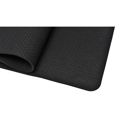 Ecoyogi TPE Yoga mat zwart - 6 mm