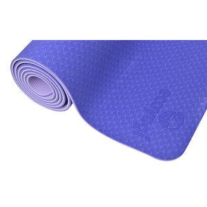Ecoyogi TPE Yoga mat Paars/lavendel - 6 mm