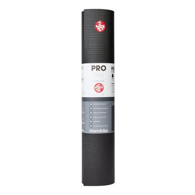 Manduka PROlite Yoga Mat - Black 200 cm extra lang