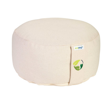 Ecoyogi Organic Cotton mat - Crème