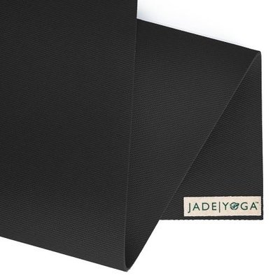 Jade Yoga Harmony yoga mat 188 cm - zwart (5 mm)