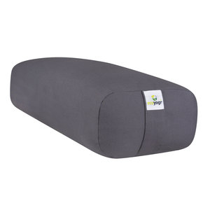 Ecoyogi rectangular yoga bolster - Stone