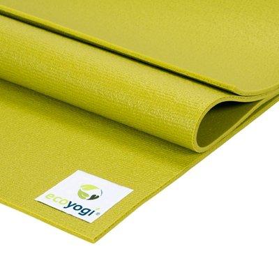 Ecoyogi Studio yogamat - Groen 183 cm