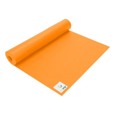 Ecoyogi Studio yogamat - Oranje 183 cm