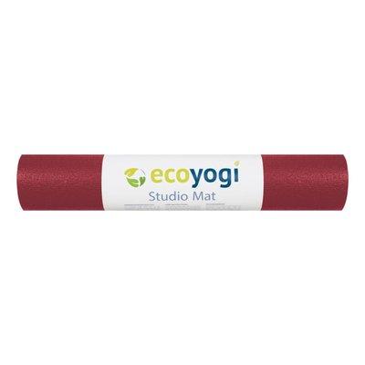Ecoyogi Studio yogamat - Rood 183 cm