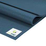 Ecoyogi Studio yoga mat - Blauw 200 cm
