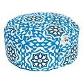 Ecoyogi meditatiekussen Blue Bells medium (eco) - 13 -15 cm
