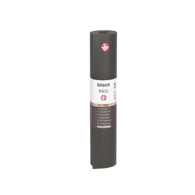 Manduka Black Pro Mat - Black - 216 cm extra lang (4,3 KG)