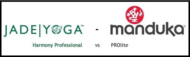 Manduka PROlite versus Jade Harmony Professional
