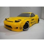 Addiction RC AD014-2 - Mazda RX-7 Rocket Bunny Body Kit - Side Skirt & Fender Kit