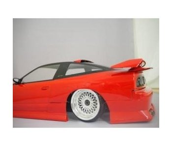 Addiction RC Nissan 180SX Addiction Aero Parts Body Kit - Rear Fender Kit