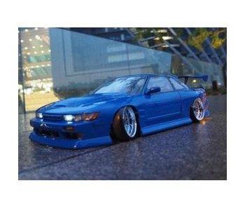Addiction RC Nissan Silvia S13 BN Sports + Addiction Aero Parts Body Kit - Full Set