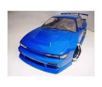 Addiction RC Nissan Silvia S13 Addiction Aero Parts Body Kit - Aero Hood (Bonnet)