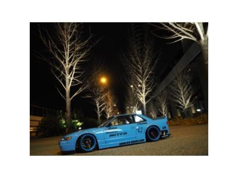 Addiction RC AD011-6 - Nissan Silvia S13 Rocket Bunny Body Kit V2 Ver. Mine - Full Set