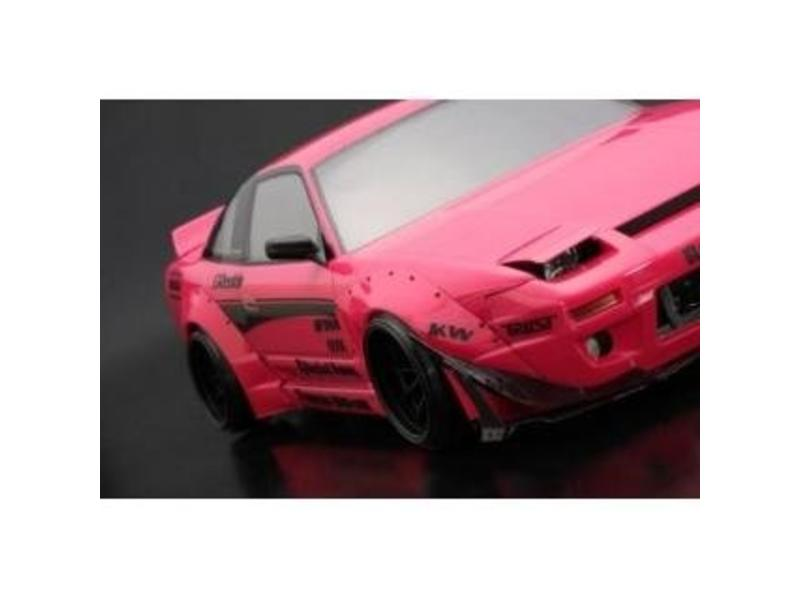 Addiction RC AD010-6 - Nissan 180SX Rodeo Special V2 Body Kit - Full Set