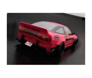 Addiction RC Nissan 180SX Rodeo Special V2 Body Kit - Duck-Tail Wing