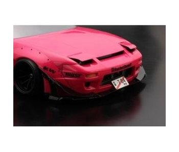 Addiction RC Nissan 180SX Rodeo Special V2 Body Kit2 - Lip Spoiler & Front Canard Set