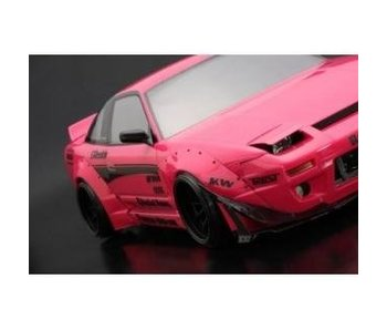 Addiction RC Nissan 180SX Rodeo Special V2 Body Kit - Side Skirt & Fender Kit