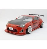 Addiction RC AD006-1 - Toyota GT86 Rocket Bunny Body Kit - Front Bumper & Lip Spoiler Set