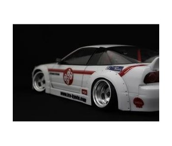 Addiction RC Nissan 180SX Rodeo Special Body Kit - Over Fender Kit