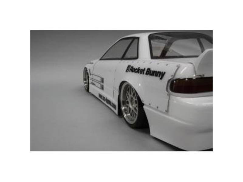 Addiction RC AD002-7 - Nissan Silvia S13 Rocket Bunny Body Kit - Full Set