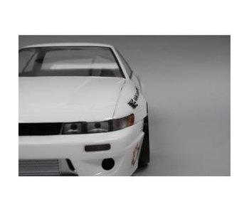 Addiction RC Nissan Silvia S13 Rocket Bunny Body Kit - Rectangle Light Bucket
