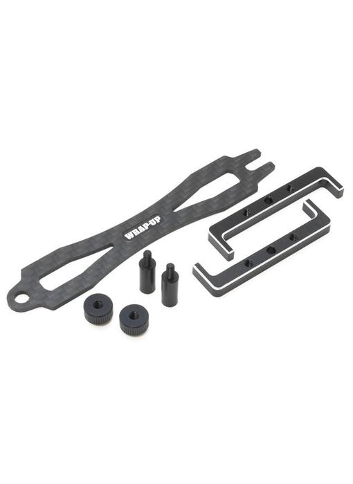 WRAP-UP Next Battery Holder and Brace Set Type-S for Short Size Lipo - Black