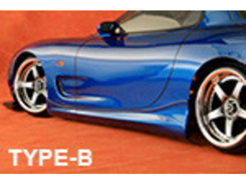 ABC Hobby 66735 - Side Skirt for Mazda RX-7 Type-B