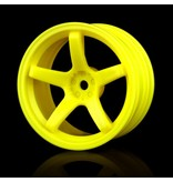 MST 5 Spokes Wheel (4pcs) / Color: Yellow