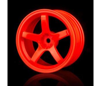 MST 5 Spokes Wheel (4) / Orange