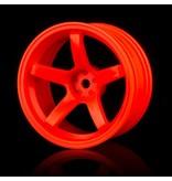 MST 5 Spokes Wheel (4pcs) / Color: Orange
