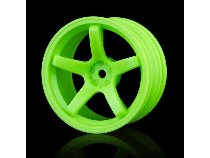 MST 5 Spokes Wheel (4pcs) / Color: Green